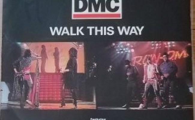 Run Dmc Walk This Way France 7 Record Featuring