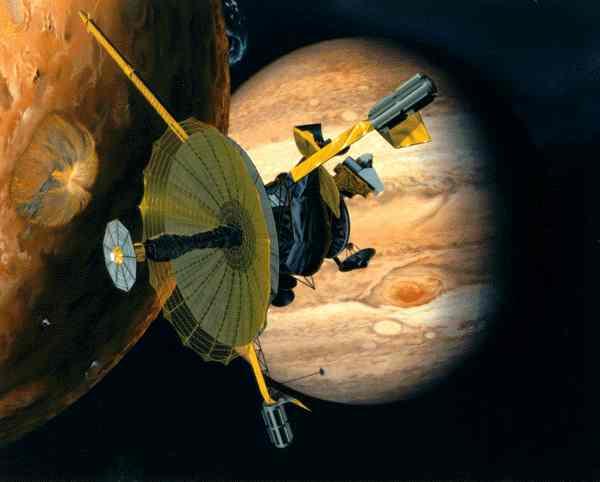 Galileo Spacecraft Picture - Spacecraft to Jupiter