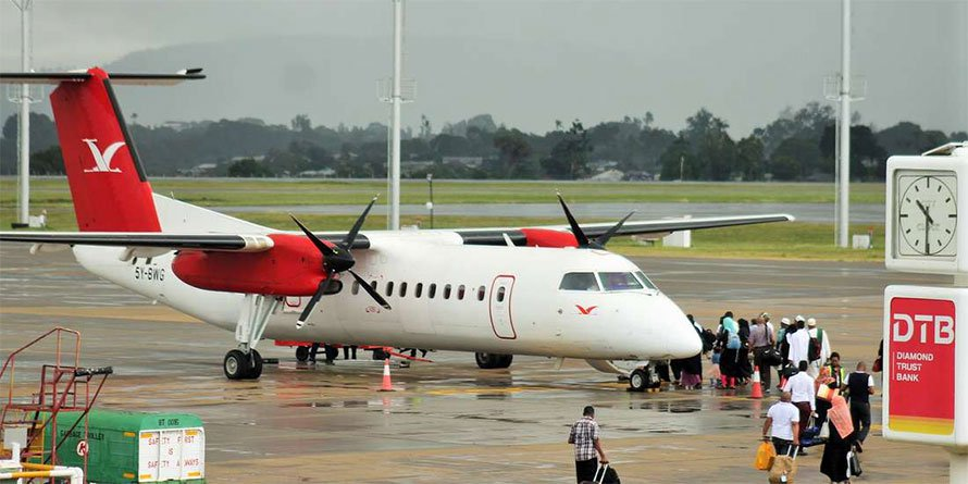 Skyward Express has had its licence revoked. FILE PHOTO | NMG