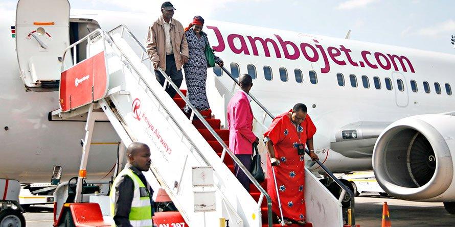 Jambojet has put on hold plans to launch direct flights from Nairobi's Jomo Kenyatta International Airport (JKIA) to Somali capital Mogadishu
