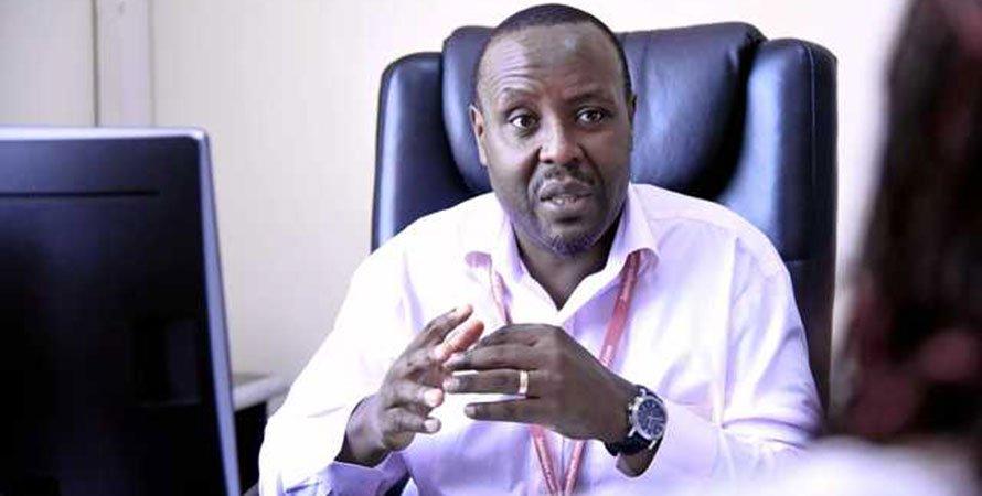 Kenya Airways chief executive Allan Kilavuka.
