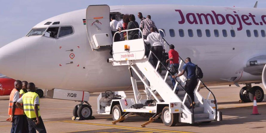 Jambojet has increased fares on domestic routes by 37 percent, signalling rising demand for travel after the easing of Covid-19 lockdown.