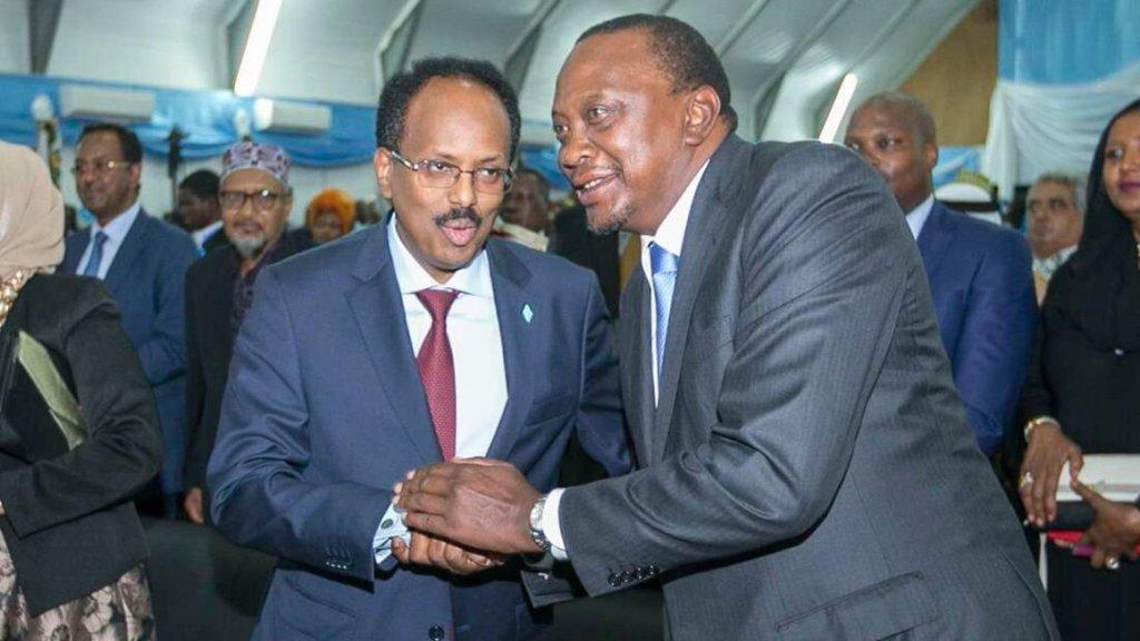 Uhuru Kenyatta, Mohamed Farmaajo