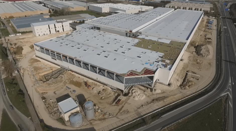 Grabación de video aereo con dron en Bureva Aerosportfoto