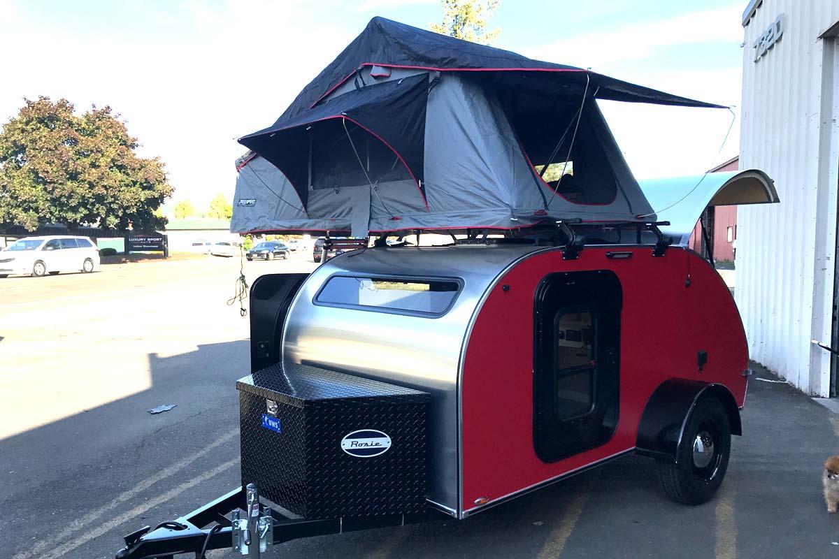 Rooftop Tent Ex&les & Rooftop Tents - Aero Teardrops