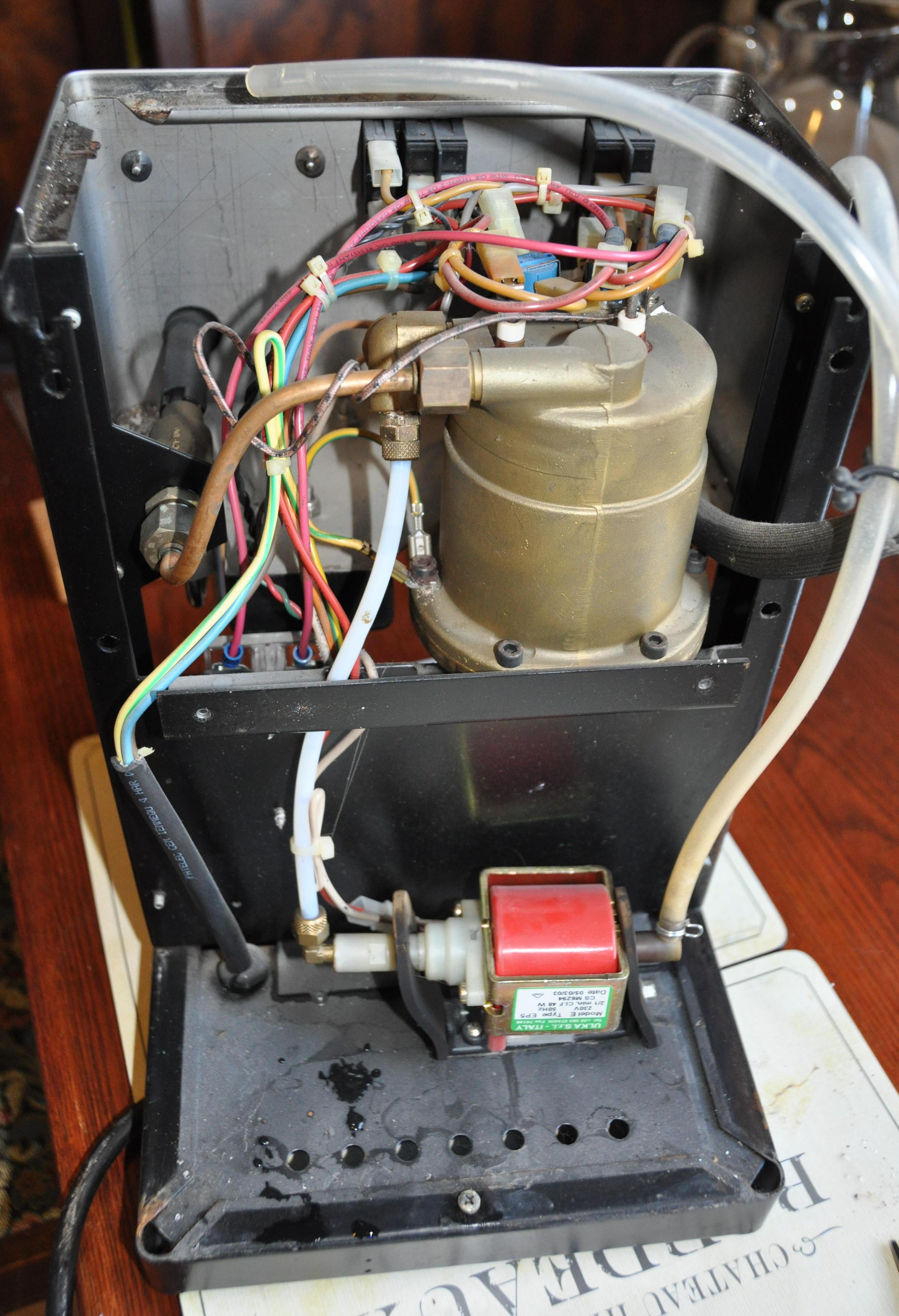 rv water pump wiring diagram turn signal intake miata a www toyskids co rancilio silvia ulka ex5 ep5 replacement procedure franklin electric grundfos
