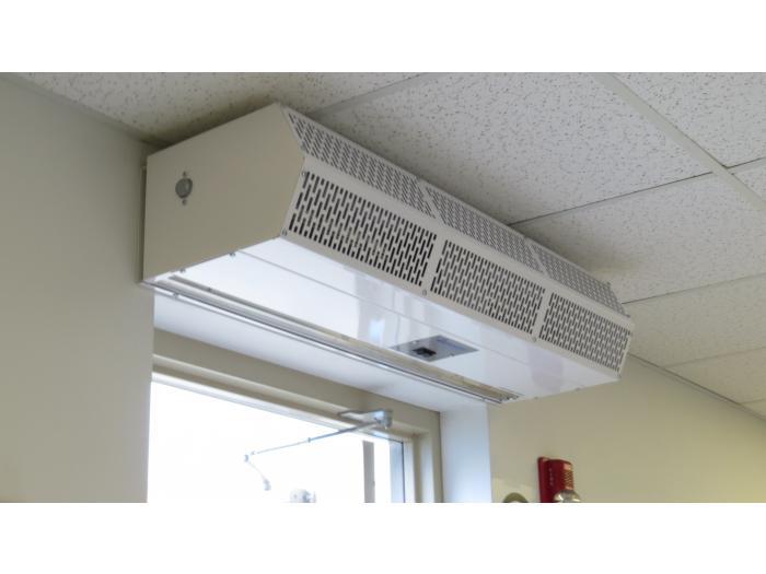 hot water steam air curtain