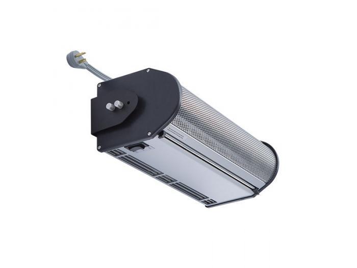 electric heated air curtain drive thru