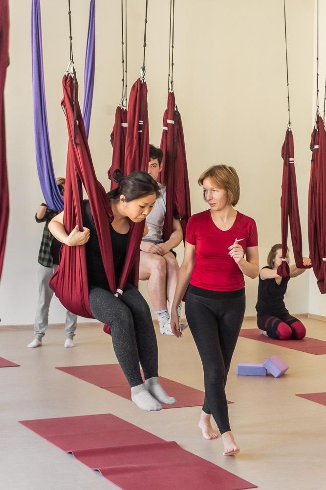 Йога обучение инструкторов