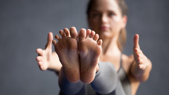 йога анатомия стоп