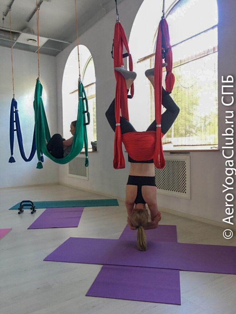 Йога инверсионная терапия