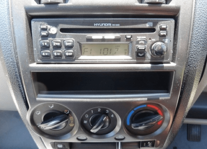 Tapedeck radio wiring diagram for hyundai accent gs