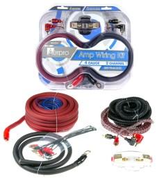 bsx204 bassix 4ga 2 channel amp install kit [ 3633 x 3633 Pixel ]