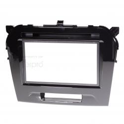 medium resolution of fp8189b double din facia to suit suzuki vitara gloss black