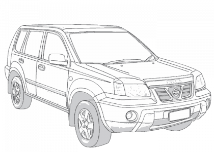 nissan x trail t30 wiring diagram 1955 mg 2001 2007 t30ii aerpro