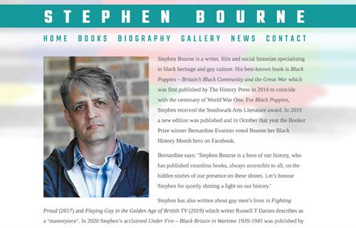 Stephen Bourne – writer