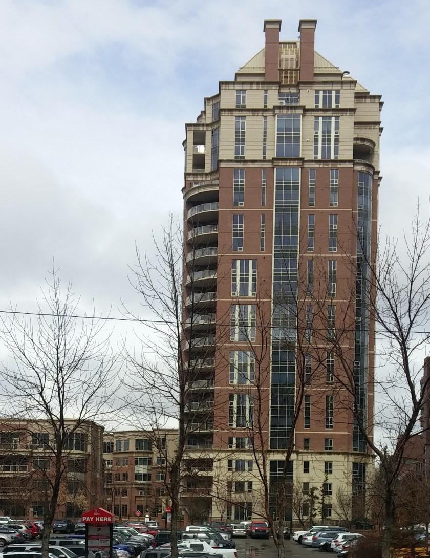 High rise-Eau Claire-Calgary
