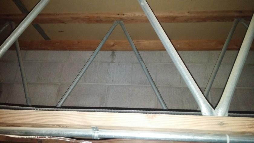 Wooden steel open web truss_commercial unit-SE-Calgary
