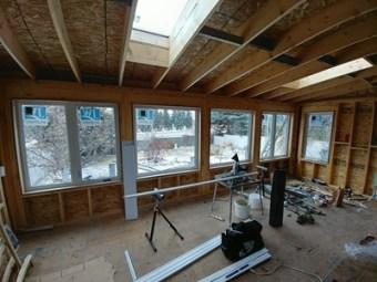 Sunroom energy efficient in Calgary