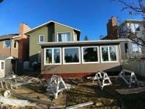 Sunroom energy efficient in Calgary elevation