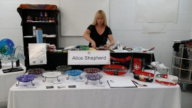 Yours truly with Birthstone Bowls and Signature Platter Series