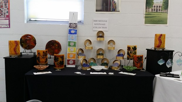 """""""7 Chakras"""" (tall center), Auction Piece SOLD!"""