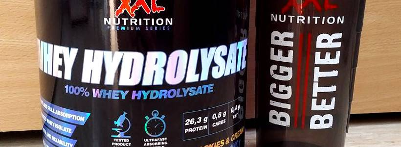 Review: Whey Hydrolysat von XXL Nutrition im Test
