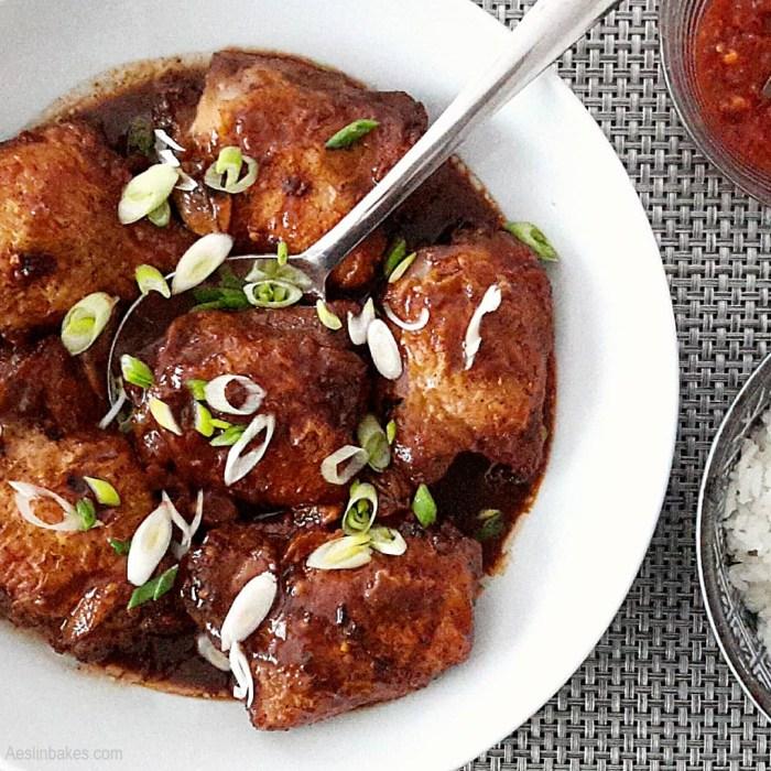 Adobong Manok - main dishes