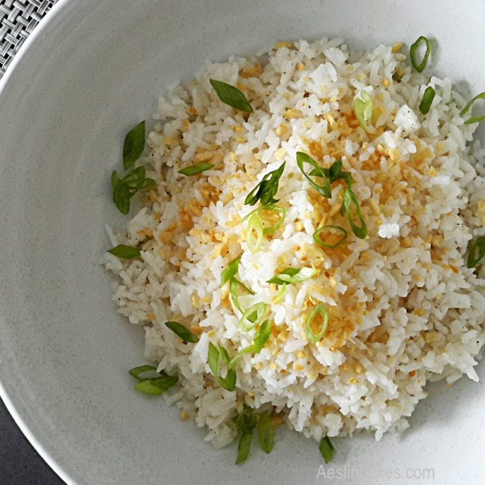 side dishes - Sinangag