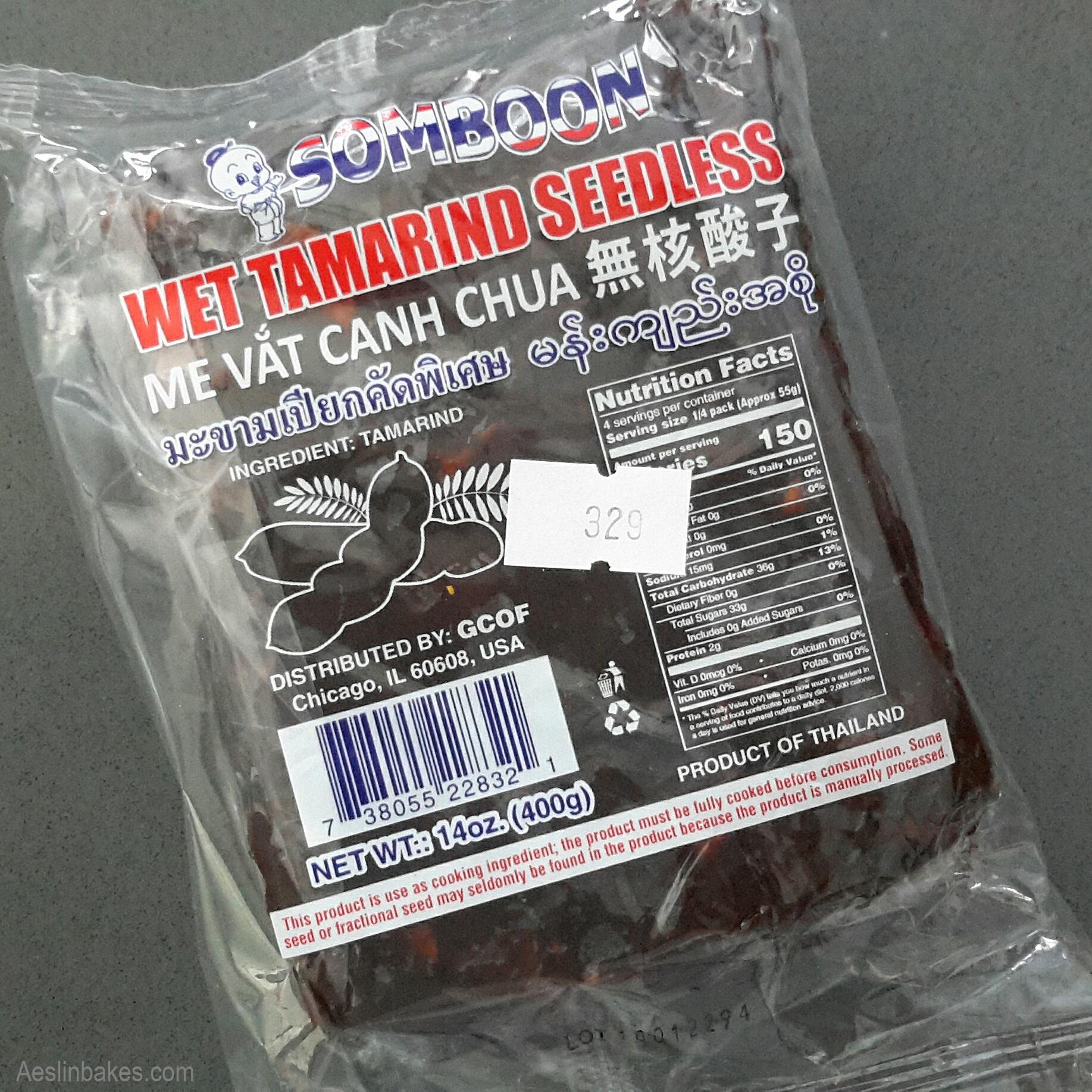 package of tamarind pulp