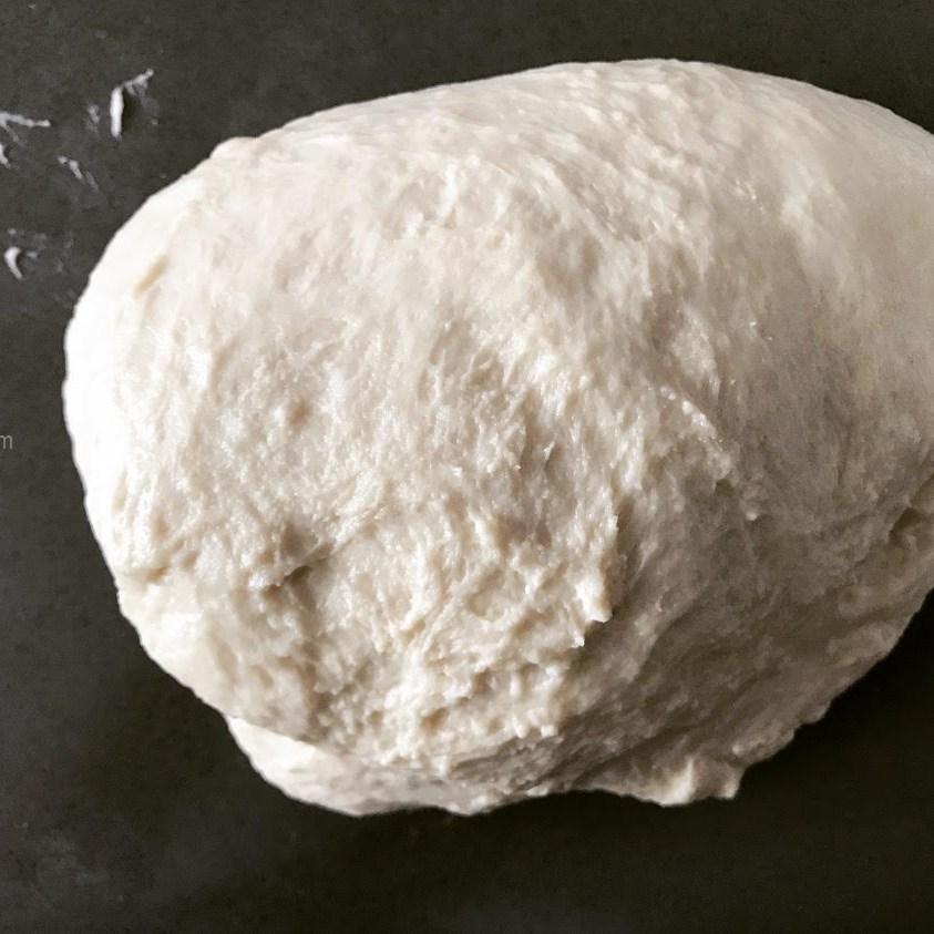 first knead (how to knead sticky dough)