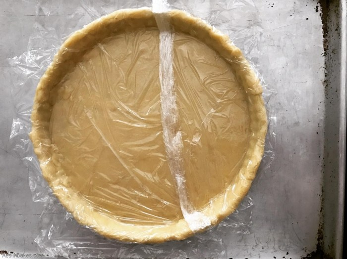 freeze the sweet pastry crust