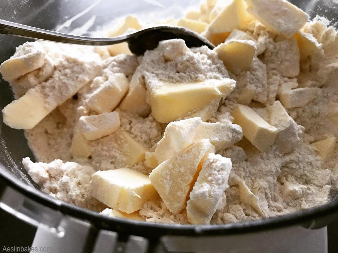 add frozen butter
