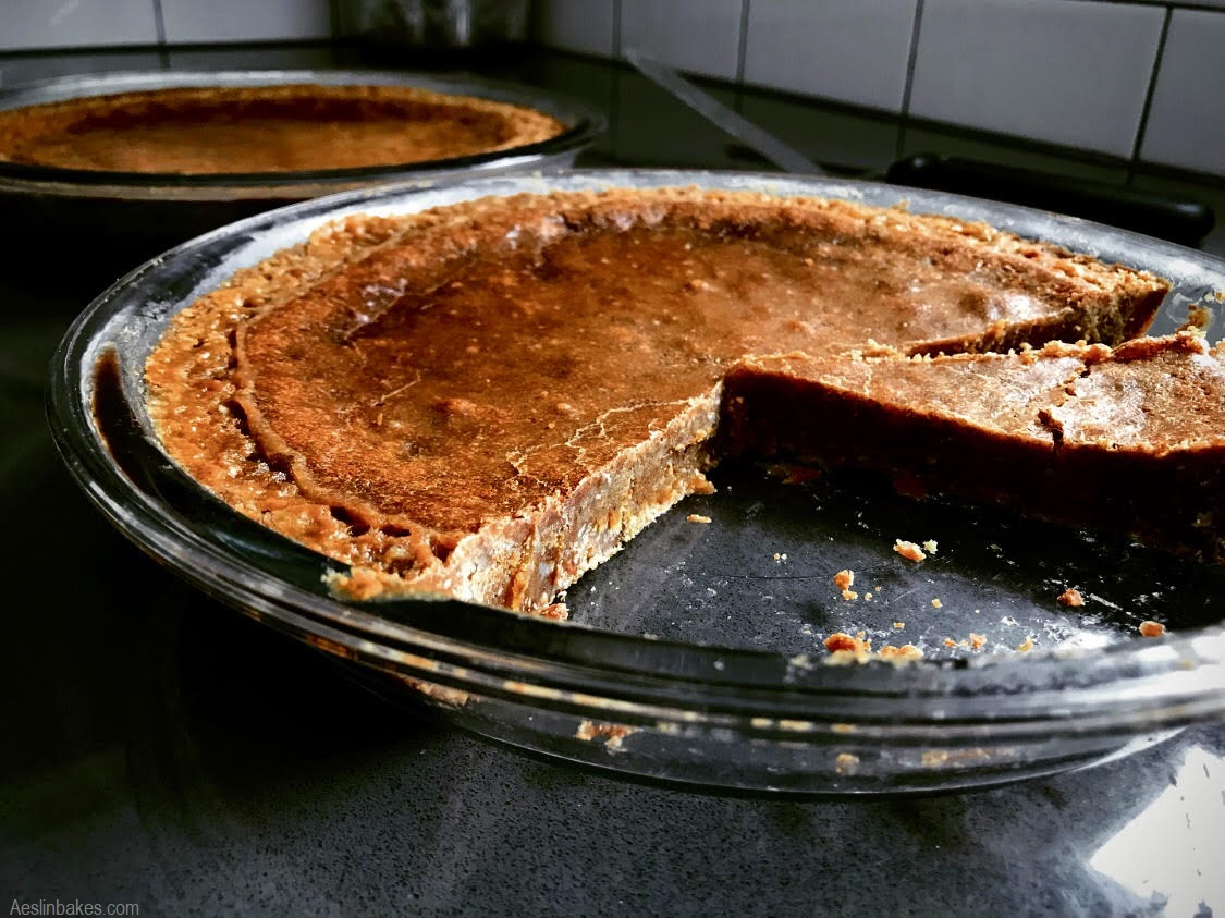 Brown Butter Crack Pies slice cold