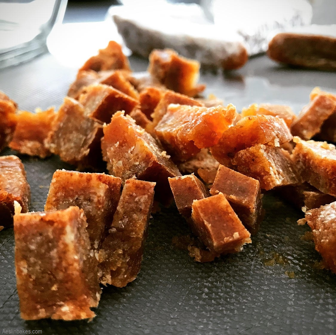 pieces of brown butter crack