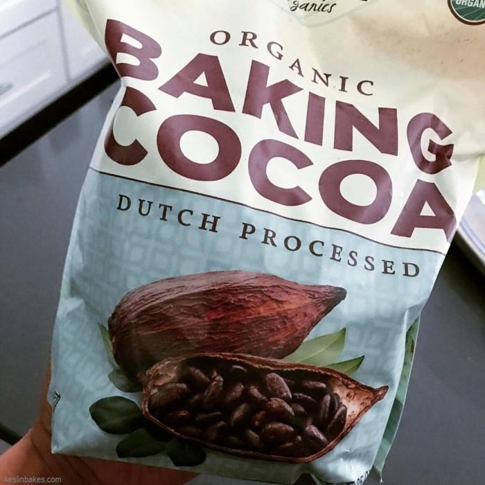 Dutch-processed cocoa