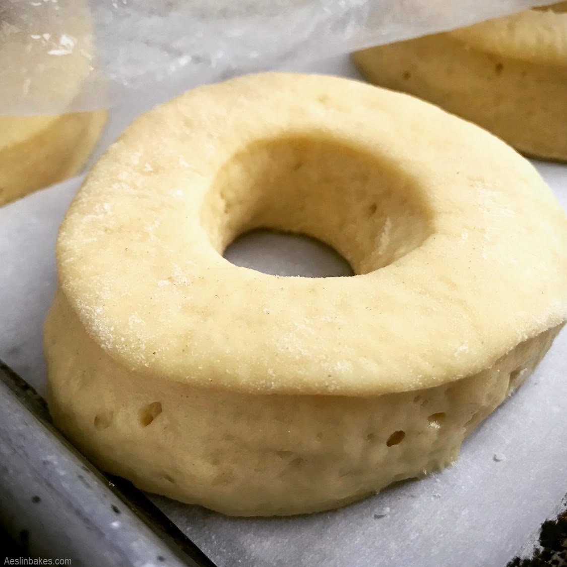 proofed doughnut