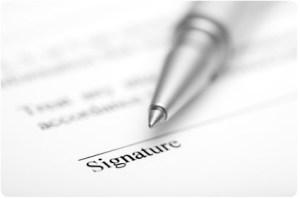 tandatangan