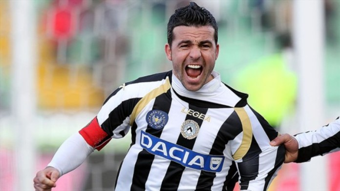 Kapten Udinese, Antonio Di Natale Bermain Terahir Musim Ini bersama klubnya