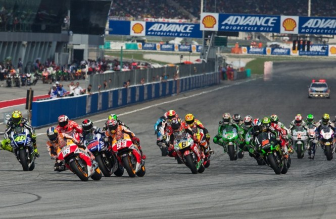 Tes resmi Pertama di Sepang, Malaysia MotoGP (2015)