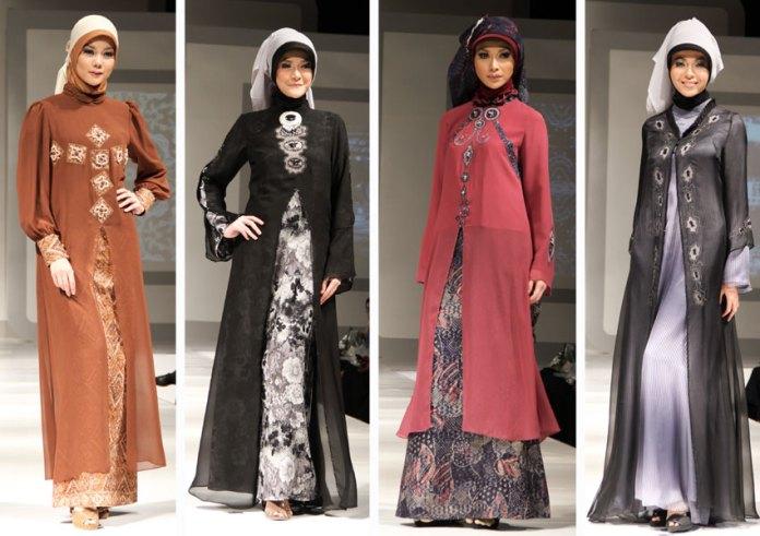 Baju Gamis trend wanita Moderen