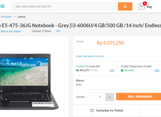Acer Aspire E5 475g