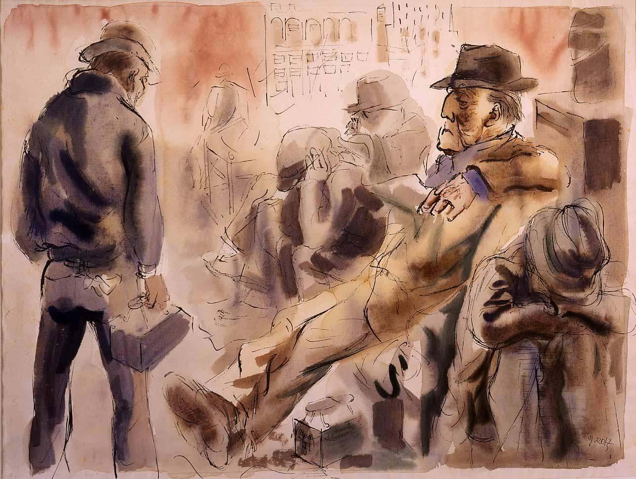 Desempleado de George Grosz