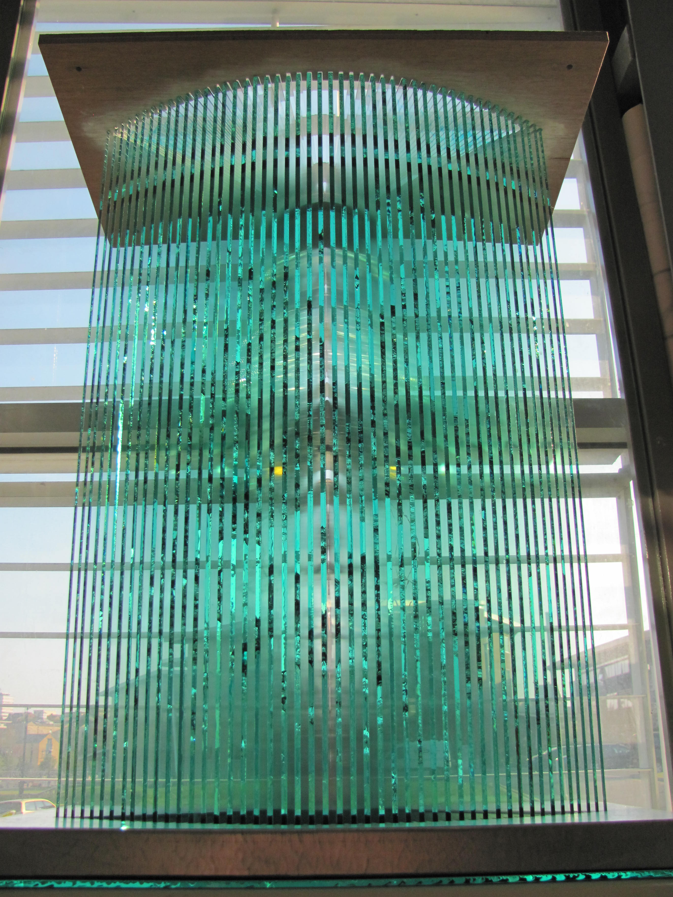 Architectural Glass Sculpture AestheticEdge