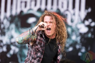 Miss May I performing at Chicago Open Air on July 16, 2016. (Photo: Katie Kuropas/Aesthetic Magazine)