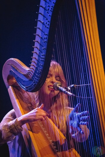 Mikaela Davis performs at the Phoenix Concert Theatre in Toronto on March 17, 2017. (Photo: Anton Mak/Aesthetic Magazine)