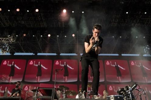 Bastille performs at the Coachella Music Festival in Indio, California on April 15, 2017. (Photo: Julian Bajsel)