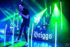Bishop Briggs performs at the El Rey Theatre in Los Angeles on April 13, 2017. (Photo: Alx Bear/Aesthetic Magazine)