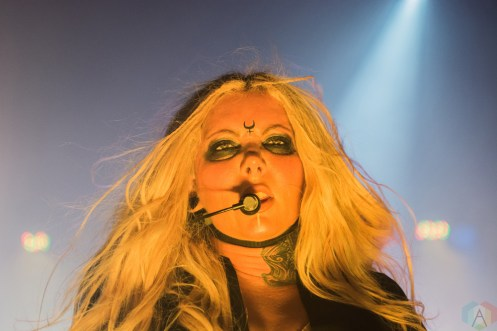 In This Moment performs at the Danforth Music Hall in Toronto on April 16, 2017. (Photo: Tyler Roberts/Aesthetic Magazine)