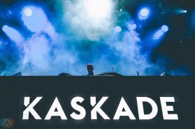 Kaskade performs at Snowbombing Canada at Sun Peaks Resort in Sun Peaks, British Columbia on April 8, 2017. (Photo: Timothy Nguyen/Aesthetic Magazine)